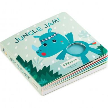 """Livre Tactile et Sonore """"Jungle Jam"""" - Lilliputiens"""