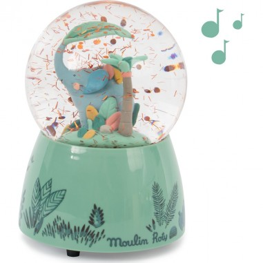 "Boule à neige musicale ""Sous Mon Baobab"" - Moulin Roty"