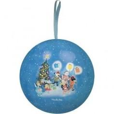 """Boule de Noël bleue """"La..."""