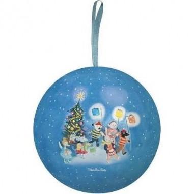 "Boule de Noël bleue ""La Grande..."