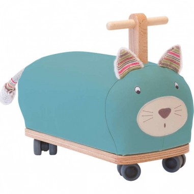 Porteur Chat Roue Folle - Les Pachats - Moulin Roty
