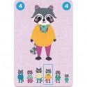 Jeu de cartes pour enfant Familou - Djeco
