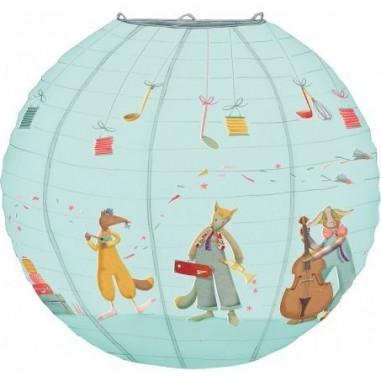 Lanterne papier pour chambre de bébé Les Tartempois - Moulin Roty