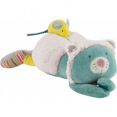 Peluche musicale chat Les Pachats - Moulin Roty