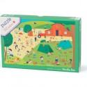 """Puzzle pour enfant 150 Pièces """"A La Campagne"""" - Moulin Roty"""