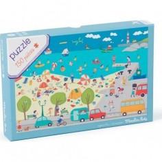 """Puzzle pour enfants 150 Pieces """"A La Mer"""" - Moulin Roty"""