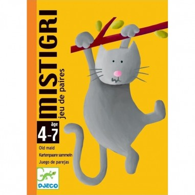 Jeu de carte pour enfant Mistigri - Djeco