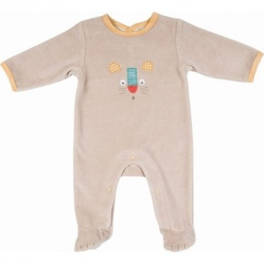 Pyjama Lion 3m Les Papoums - Moulin Roty