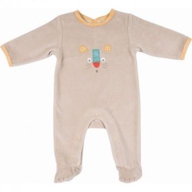 Pyjama Lion 6m Les Papoums - Moulin Roty