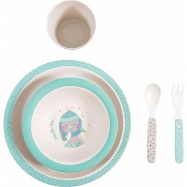 Set vaisselle bleue les jolis trop...