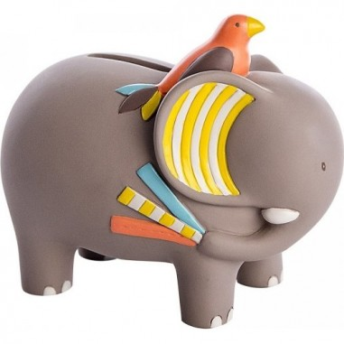 Tirelire Elephant Les Papoums -...