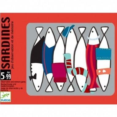 Jeu de carte pour enfant Sardines -...