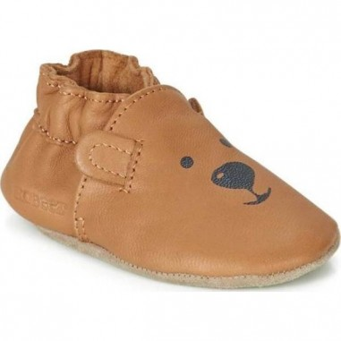 Chaussons souples Sweety Bear Camel -...