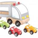 Camion en bois Multi Bolides - Janod