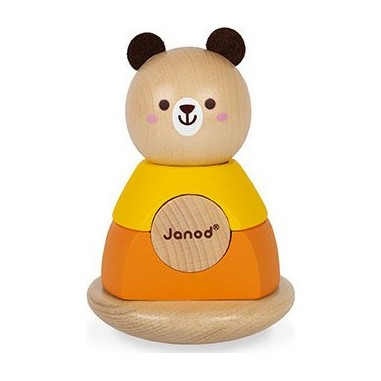 "Jouet en bois ""Culbuto Ours"" - Janod"