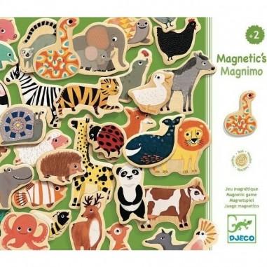 "Magnets en bois ""Magnimo"" - Djeco"