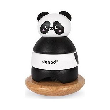 """Jouet en bois """"Culbuto Panda"""" - Janod"""