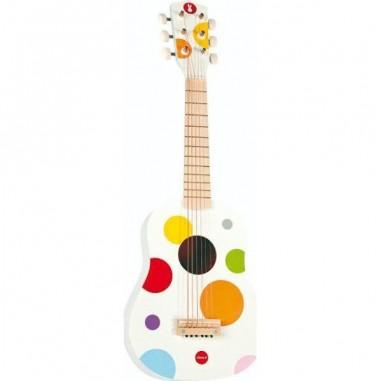 Guitare en bois Confetti - Janod