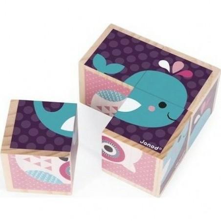 Kubix 70 Cubes Archi - Janod