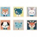 Mes Premiers Cubes - Portraits De La Foret - Janod