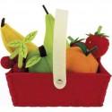 Panier de 8 Fruits en tissu - Janod
