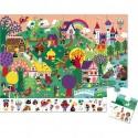 Puzzle d'observation - Les Contes 24 Pièces - Janod
