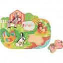 Puzzle en bois 6 pièces Happy Farm - Janod