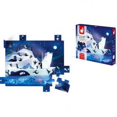"""Puzzle Surprise en carton """"A La Belle..."""