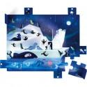 """Puzzle Surprise en carton """"A La Belle Etoile"""" - Janod"""