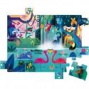 """Puzzle Surprise """"Festin Dans La Jungle"""" - Janod"""