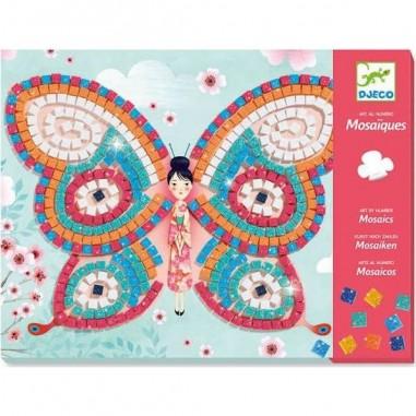 Coffret Mosaïques Papillons - Djeco