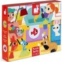 Puzzle Tactile Les Animaux Domestiques - Janod