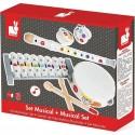 Set Musical d'instruments en bois Confetti - Janod