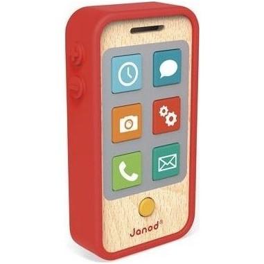 Téléphone portable en bois sonore - Janod