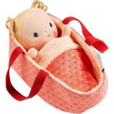 Poupée en tissu Bébé Anaïs -...