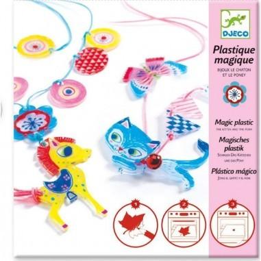 Plastique Magique Chatons Et Poneys -...