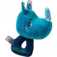 Bavoir Elephant Avec Manches Les Papoums - Moulin Roty