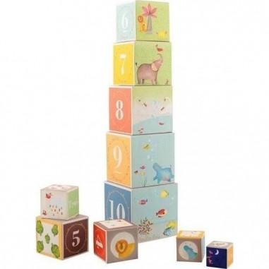 Cubes Empilables Les Papoum - Moulin...