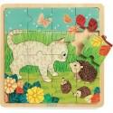 Puzzle en bois Garden - Djeco