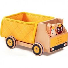 """Camion en bois """" Camion à benne de Georges"""" - Lilliputiens"""