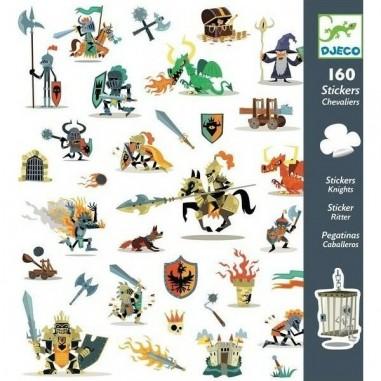 Stickers Papier Chevaliers - Djeco
