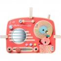 """Panneau d'activités Radio Vintage """"Anaïs"""" - Lilliputiens"""