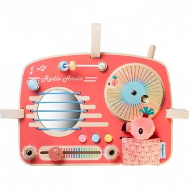 Panneau d'activités Radio Vintage...