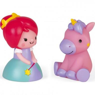 Jouets de bain Princesse et Licorne -...