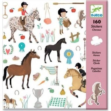 Stickers Papier Chevaux - Djeco