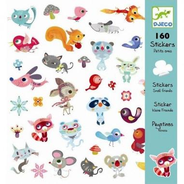 "Stickers Papier ""Petits Amis"" - Djeco"