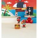 "Coffret de jeu en bois ""Pirates Story"" - Janod"