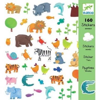 Stickers Papiers Animaux - Djeco