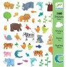 Stickers Papiers Animaux -...