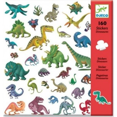 Stickers Papiers Dinosaures - Djeco